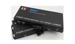 Bộ Kéo dài HDMI HDTEC bằng Cáp Quang 20Km (Có điều khiển chuột)