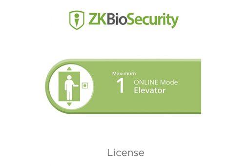 Phần mềm điều khiển phân tầng thang máy Online ZKTeco ZKBS-ELE-ONLINE-PRJ