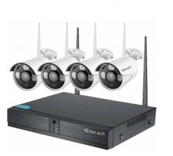 Bộ Kit camera IP Wifi VANTECH VP-0460W