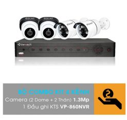 Bộ Kit camera IP VANTECH VP-K12NVR