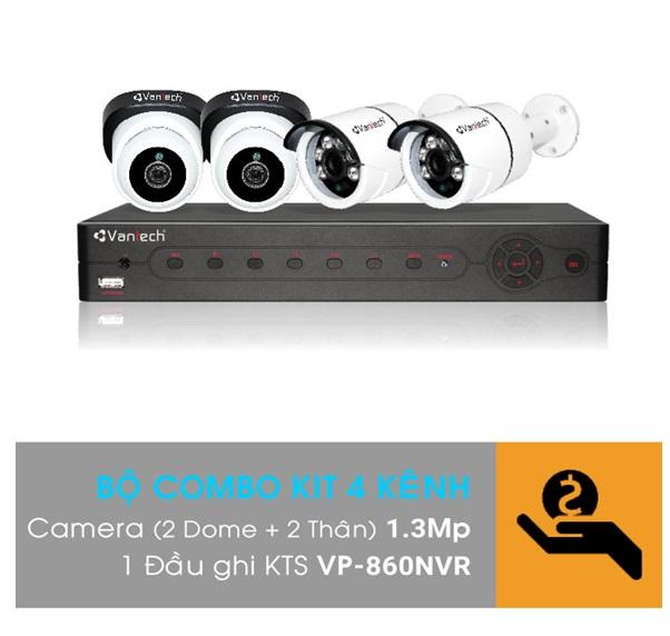 Bộ Kit camera IP VANTECH VP-K12NVR