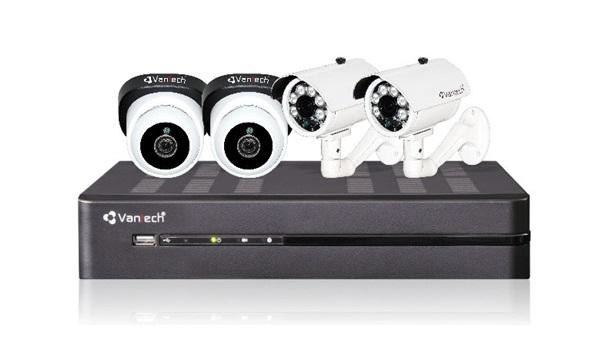 Bộ Kit camera VANTECH VP-K411ATC