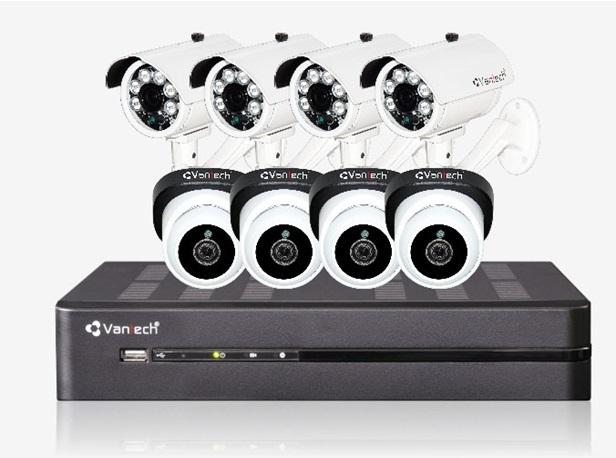 Bộ Kit camera VANTECH VP-K811ATC