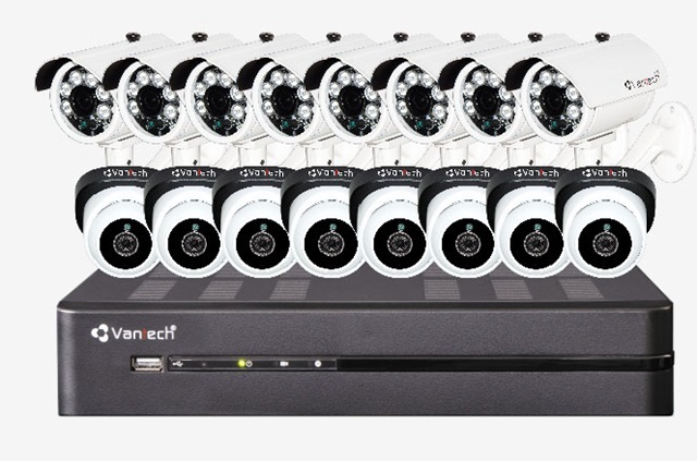 Bộ Kit camera VANTECH VP-K1611ATC
