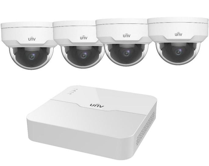 Bộ Kit camera IP UNV KIT/301-04LB-P4/4*IPC322LR3-VSPF28-D