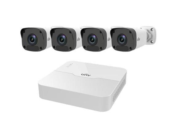 Bộ Kit camera IP UNV KIT/301-08LB-P8/4*2122LR3-PF40M-D