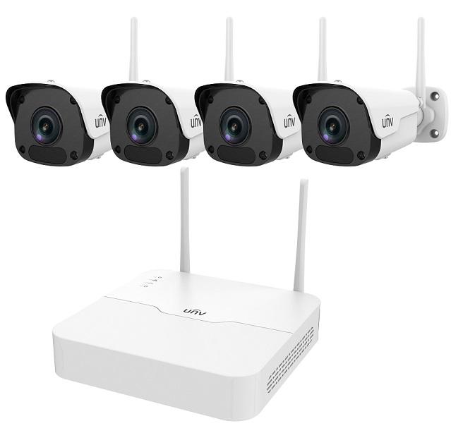Bộ Kit camera IP Wifi UNV KIT/301-04LB-W/4*2122ER3-F40W-D
