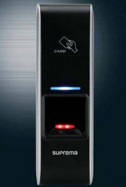 Máy chấm công kiểm soát cửa, vân tay và thẻ SUPREMA BioEntry Plus BEPH-OC