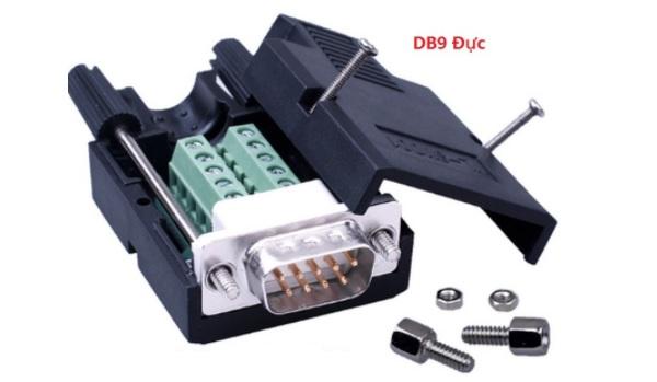 Đầu nối đực cổng RS232 DB9 (loại không hàn)