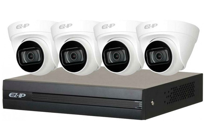 Bộ Kit camera IP DAHUA EZ-IP NVR1B04HC-4P/E/4-T1B20P