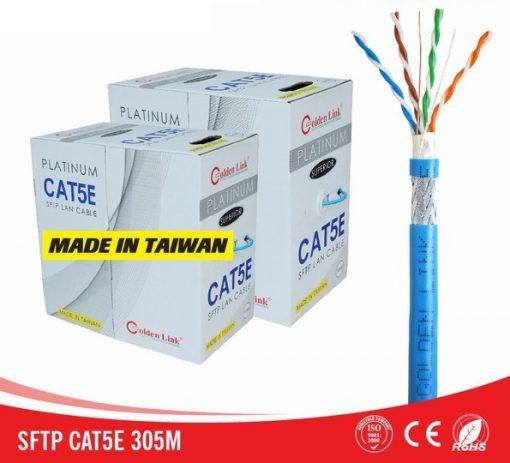Cáp mạng Golden Link PLATINUM CAT.5E SFTP