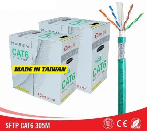 Cáp mạng Golden Link PLATINUM CAT.6 SFTP