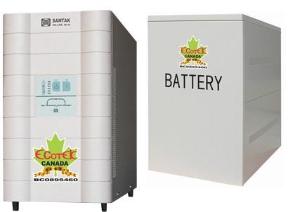 Nguồn lưu điện 1KVA UPS SANTAK ONLINE C1KS