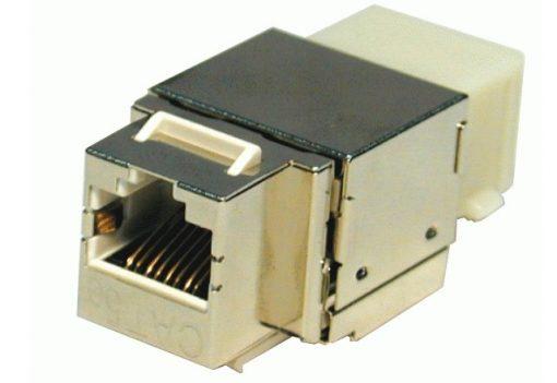 Modular Jack-Ổ cắm chống nhiễu Dintek CAT.5E Fully shielded Keystone Jack (1305-03024)