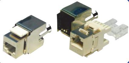 Modular Jack-Ổ cắm chống nhiễu Dintek CAT.6 Fully shielded Keystone Jack (1305-04006)