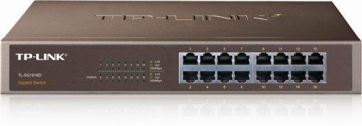 16-Port Gigabit Switch TP-LINK TL-SG1016D