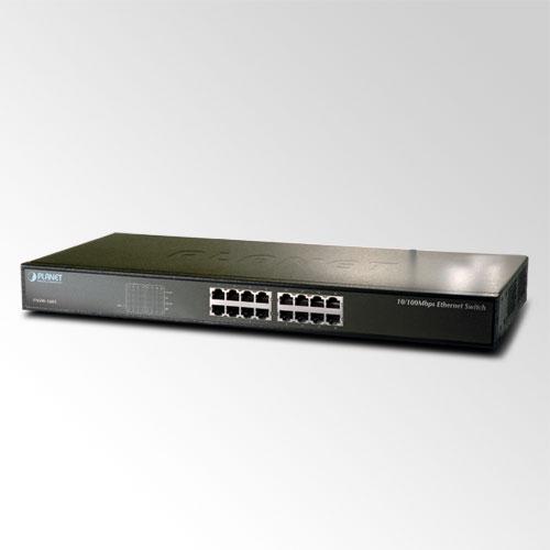 16-Port 10/100Base-TX Switch PLANET FNSW-1601