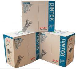 Cáp mạng Dintek CAT.5E UTP (1101-03004, 100 mét/thùng)