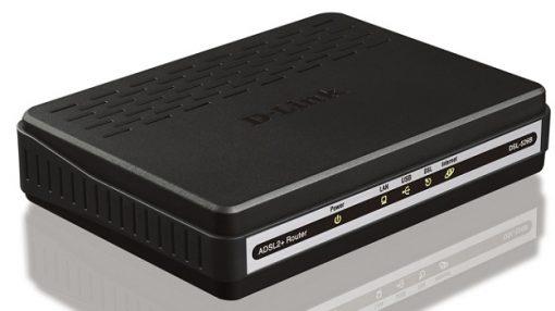Router ADSL2/2+ D-Link DSL-526E