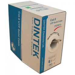 Cáp mạng Dintek CAT.6 UTP (1101-04005CH, 100 mét/thùng)