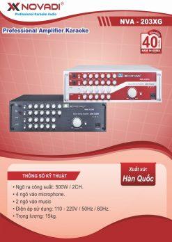 Amplifier 300W NOVADI NVA-203XG