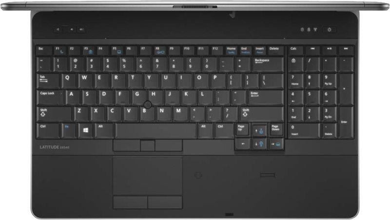 Thiết kế bàn phím Dell Latitude E6540 khoa học