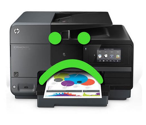 Các lỗi máy in HP