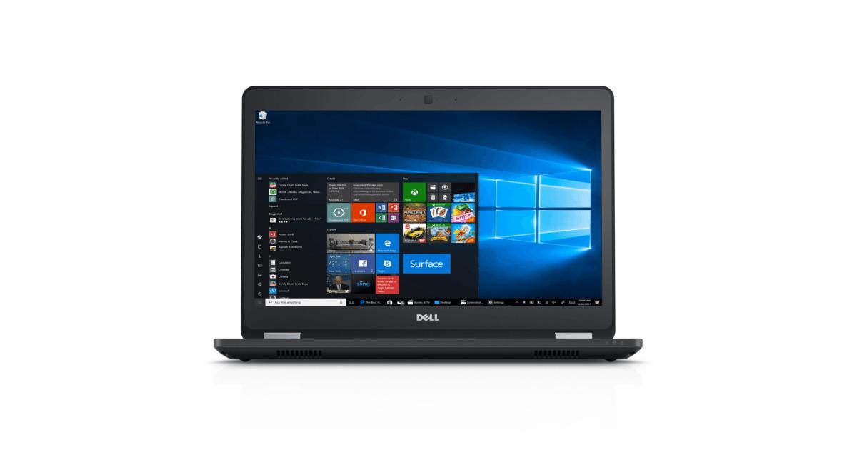 Bảo mật Dell Latitude 5480 cấp cao