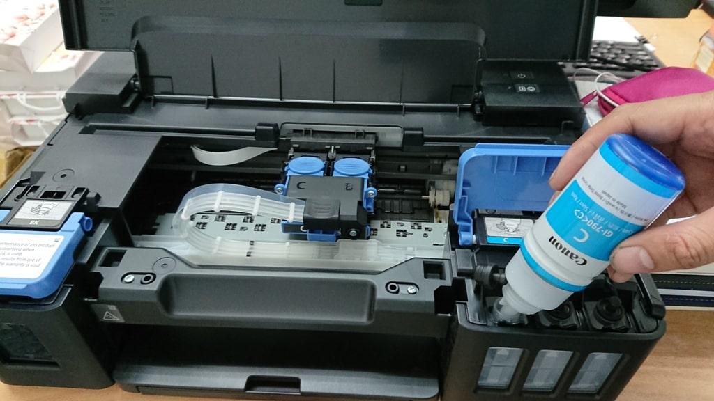 Đổ mực máy in tại nhà Hà Nội giá rẻ