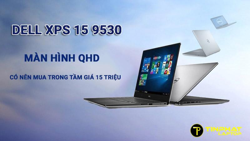 Thiết kế Dell XPS 15 9530 tương phản cao