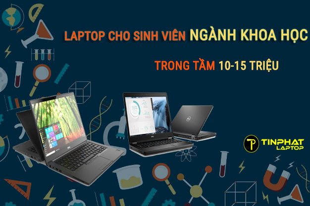 Laptop cho sinh viên ngành khoa học