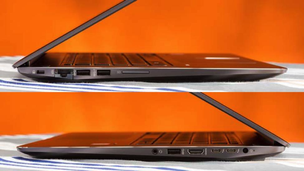 Kết nối HP ZBook 15 G3 đa dạng