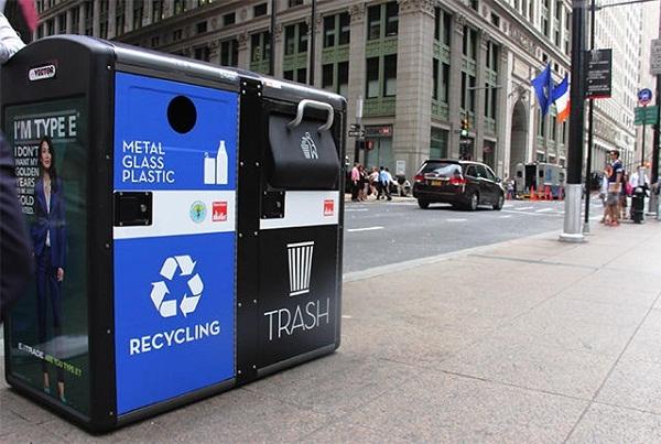 Biến thùng rác công cộng thành trạm phát Wifi miễn phí