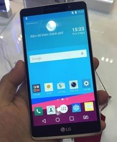 Cận cảnh LG G4 Stylus tại Việt Nam: màn hình lớn, bút cảm ứng tiện dụng