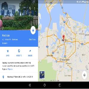 Đã có thể gửi vị trí Google Map từ máy bàn lên thiết bị Android