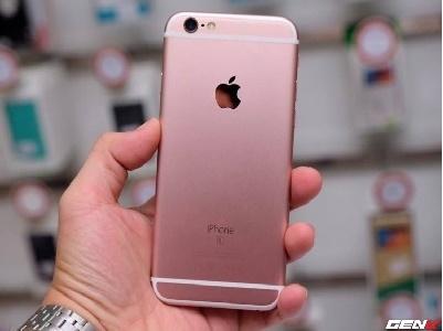 Trên tay iPhone 6s vàng hồng đầu tiên đã về Việt Nam