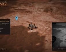 Tự mình khám phá bề mặt sao Hỏa bằng web tương tác của NASA