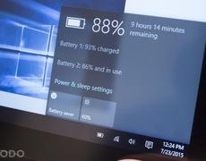Windows 10 cải thiện đáng kể thời lượng pin của Laptop