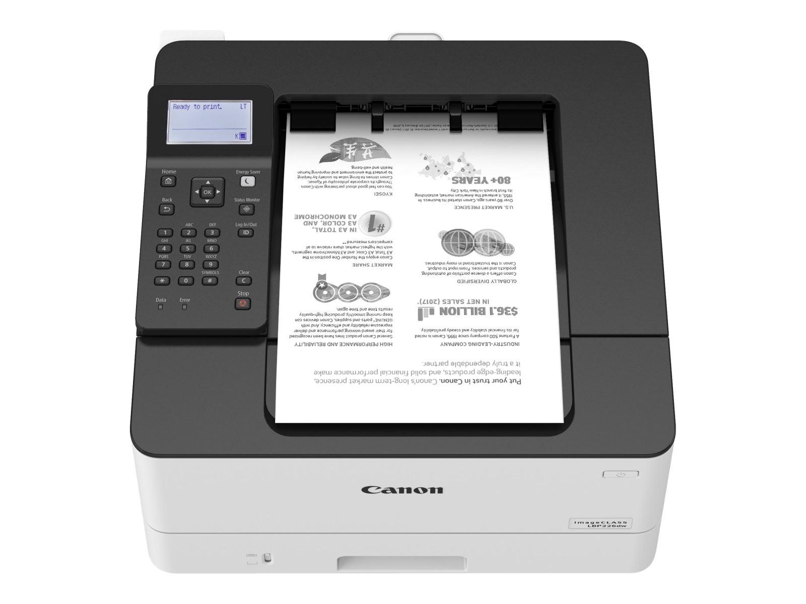 Tốc độ in ấn lý tưởng kết hợp khả năng in 2 mặt tự động