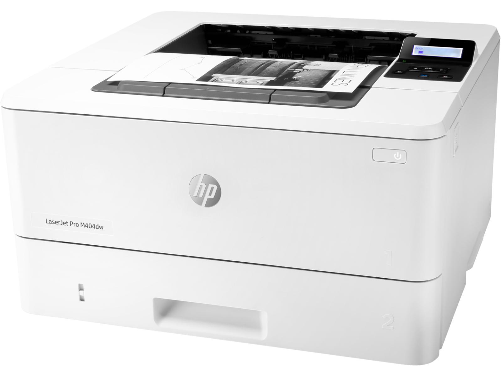 Máy in đen trắng HP LaserJet Pro M404dw phù hợp sử dụng trong văn phòng