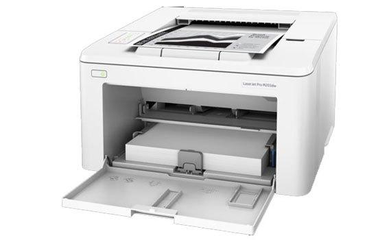 Máy in HP LaserJet Pro M203dw có khả năng kết nối từ nhiều thiết bị khác nhau