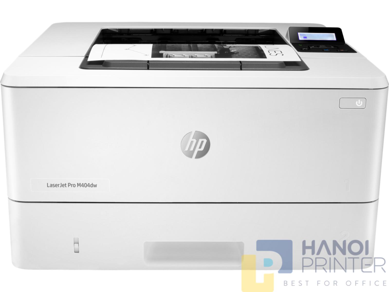 Máy in qua mạng Hp 404dw có tốc độ in ấn nhanh chóng