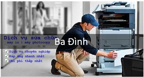 Sửa chữa máy in các loại tại Ba Đình, Hà Nội