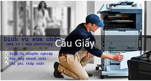 Dịch vụ sửa chữa máy in tại Cầu Giấy, Hà Nội