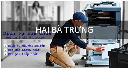 Sửa chữa máy in tại Hai Bà Trưng Hà Nội