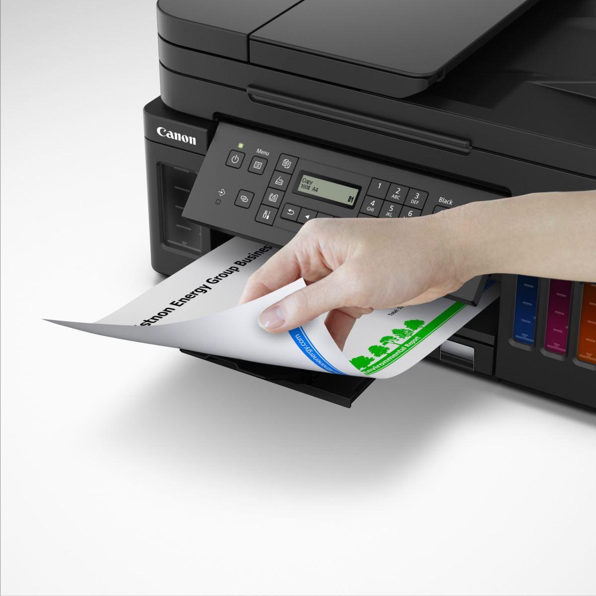 Cả 2 mẫu in máy in mới dòng G Series đều có thiết kế nạp giấy hai chiều
