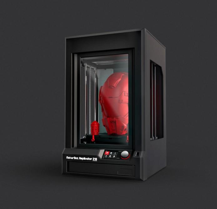 Xôn xao máy in 3D cỡ khủng của MakerBot1