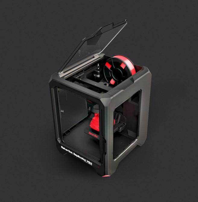 Xôn xao máy in 3D cỡ khủng của MakerBot2