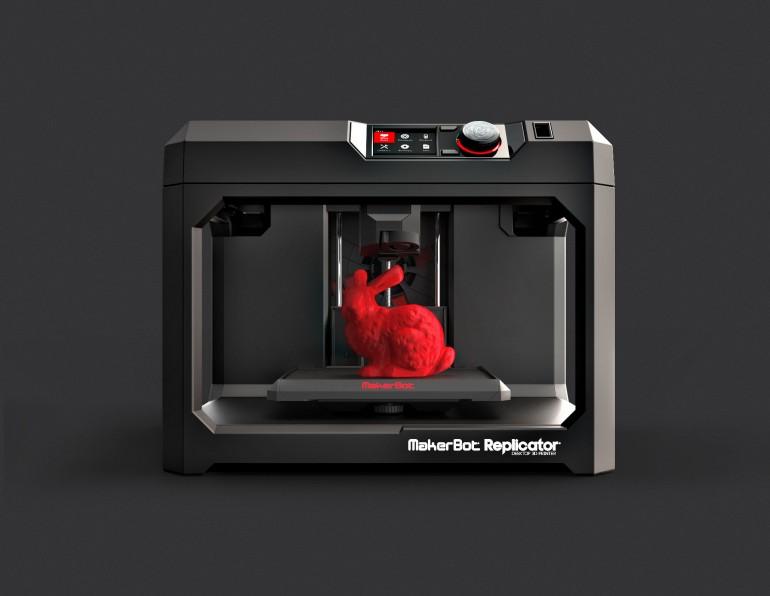 Xôn xao máy in 3D cỡ khủng của MakerBot3