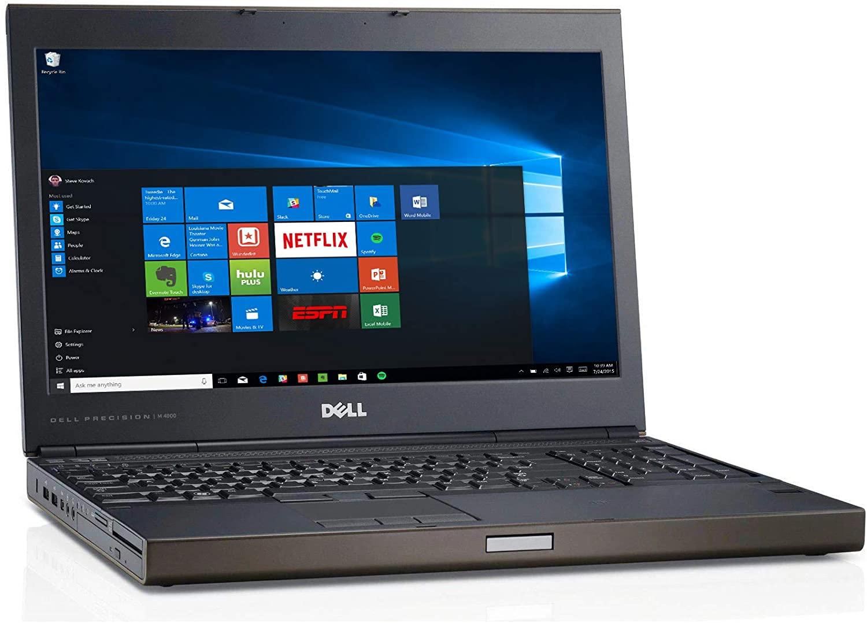 Thiết kế bên ngoài của Dell Precision M4800